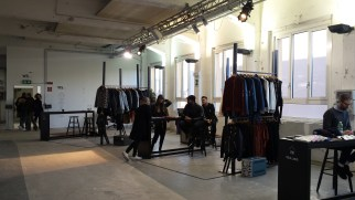 White fiera di moda a Milano per la Men's Fashion Week, box