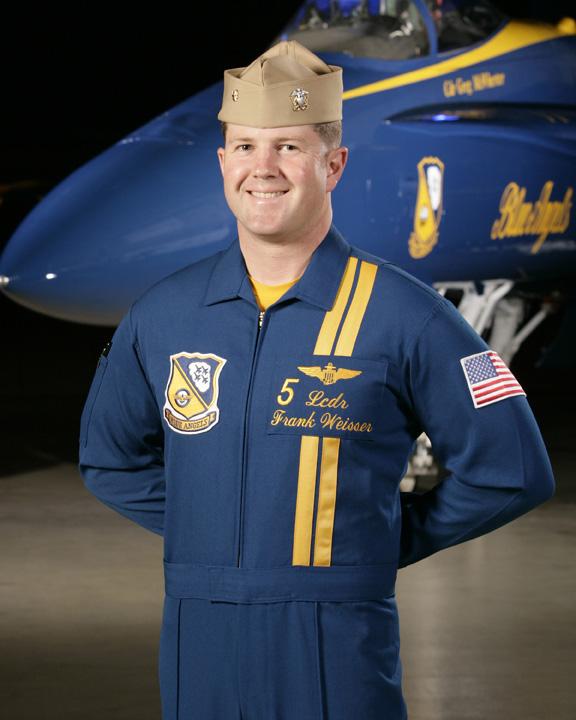 Lieutenant Commander Frank Weisser