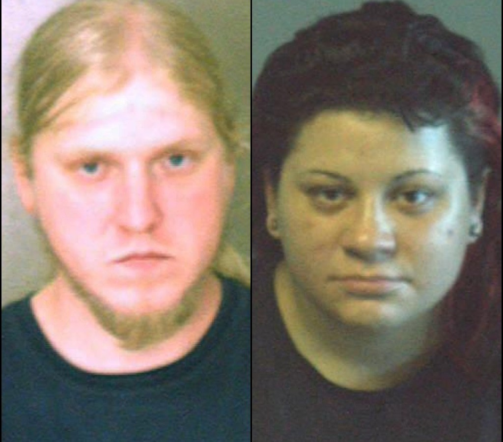 Timothy Woznick, left, and Michele Honaker