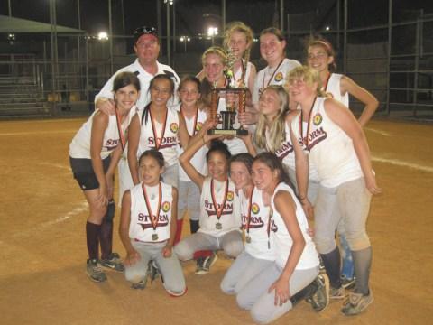 SS Storm 12U Softball Team