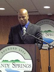 Recipient of the 2013 Sandy Springs Humanitarian Award