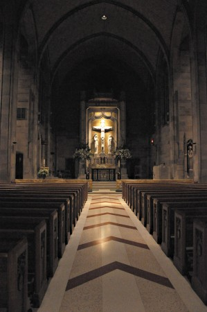 Cathedral of Christ the King is one of six metro churches offering perpetual adoration.