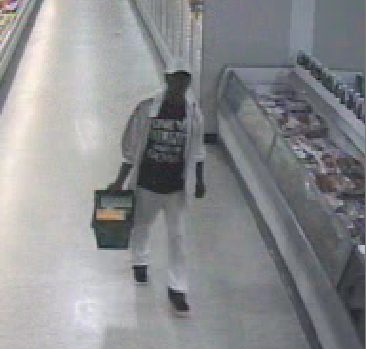 Dunwoody police are asking for help identifying this man in connection with a credit card theft May 9.