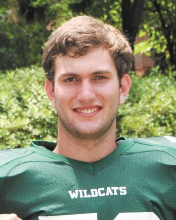 """""""The main thing that I would like to take away from senior season is to be a leader on and off of the field. I hope that when the season is over that I can say that I did everything that I could do for the team's success."""" Austin Chapman The Westminster Schools Wildcats"""