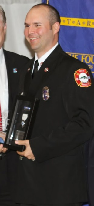 Paramedic of the Year Jeremy Green