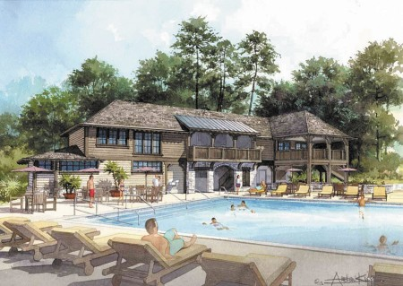 Garden Hills residents will soon get a new pool house, expected to cost $800,000, with a completion date of April 2014.