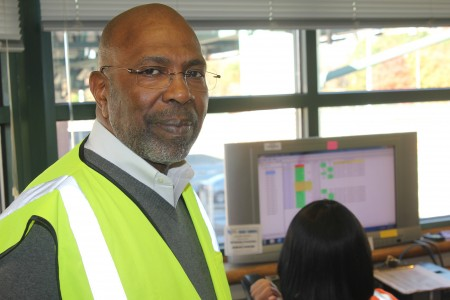 Michael Bent has worked at the Ga. 400 toll plaza for 17 years.