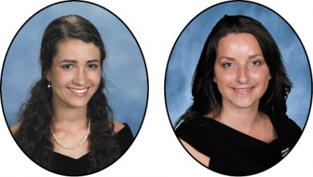 St. Pius X Catholic High School Christina DeLurgio, STAR student Melissa Page, STAR teacher