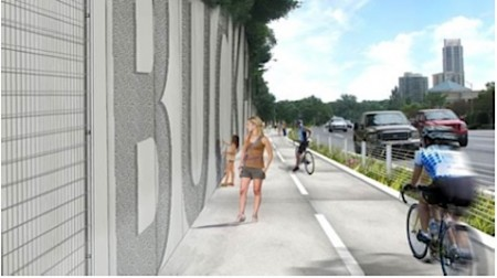 A rendering of PATH400.
