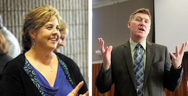 Sutton Middle School Principal Audrey Sofianos and North Atlanta High Principal Gene Taylor have both said they will not return to their posts next year.