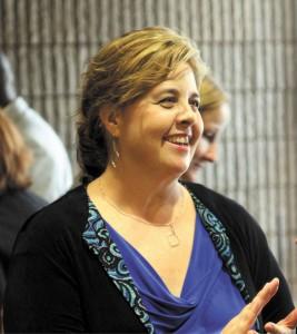 Sutton Middle School Principal Audrey Sofianos.