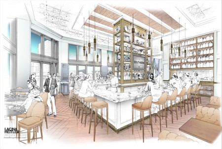 The Southern Gentleman, a gastropub, will open later this year at Buckhead Atlanta.
