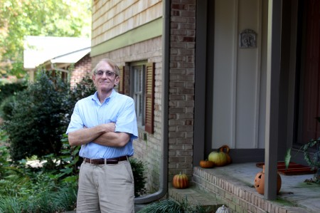 """Edward Carter and his wife wanted a """"sense of community"""" after moving from their smaller home on Dresden Drive."""