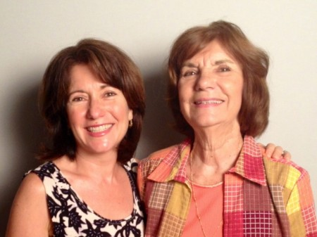 Robin and her mother, Bobbie Conte.
