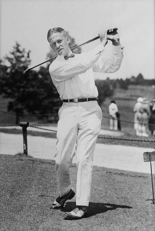"Atlanta honored Bobby Jones, who won the ""grand slam"" of golf in 1930, by naming a new golf course after him. Photo from Wikipedia"