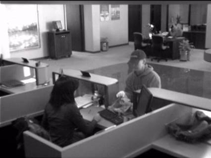 Dunwoody Police are asking for help identifying a man suspected of robbing the Fidelity Bank on Perimeter Center West in Dunwoody on Feb. 5.