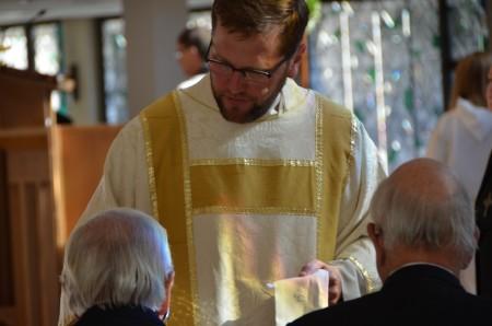 "Rev. Michael Sullivan describes Lent as a  ""spiritual journey."""
