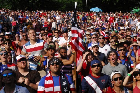 Thousands of soccer fans filled Brookhaven Park last year for the city's first Soccerfest.
