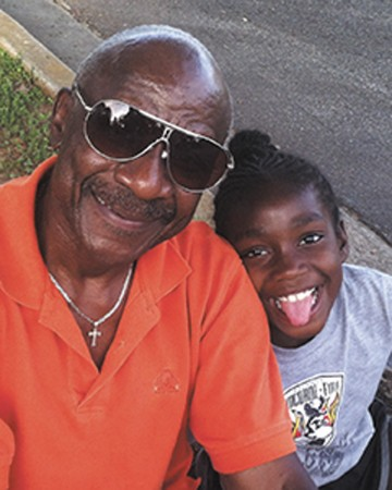 """""""My personal opinion [is] if they could control the crime elements, it could be positive, bring a lot of income [to the area]..."""" Calvon Moore, with granddaughter Kara Croon"""
