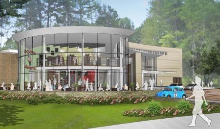 A rendering of the new Souper Jenny on the campus of the Atlanta History Center. (Courtesy Jennifer Levison)