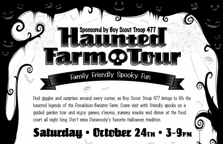 2015 Haunted Farmhouse Flier