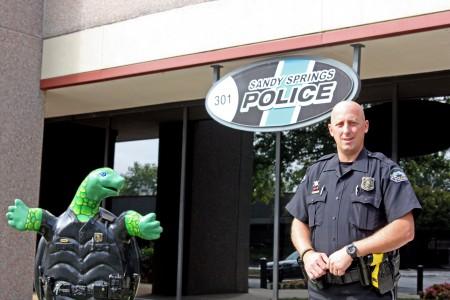 Sandy Springs Police Officer Nick Smith.