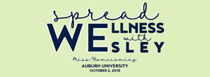 Spread Wellness with Wesley