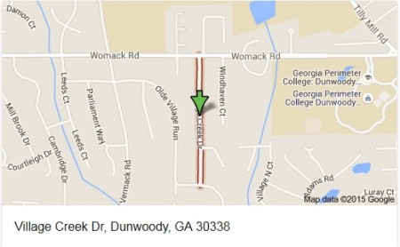 Dunwoody's budget committee on Oct. 20 approved $156,000 of a projected 2016 surplus to fund completing a sidewalk on Village Creek Drive.