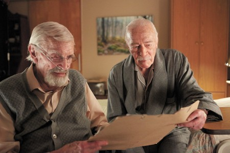 "The 2016 Atlanta Jewish Film Festival opens Jan. 26 at 7:30 p.m. at the Cobb Energy Centre with ""Remember"" starring Christopher Plummer, right, and Martin Landau as Holocaust survivors in a quest to find a Nazi tormenter. (Photo AJFF)"
