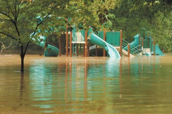 Flooding and sewage contamination has been an ongoing problem at Atlanta Memorial Park for decades.