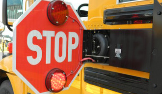 Stop-arm-on-bus