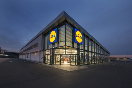 A publicity photo of a Lidl store in Arcole, Italy. (Lidl U.S.)