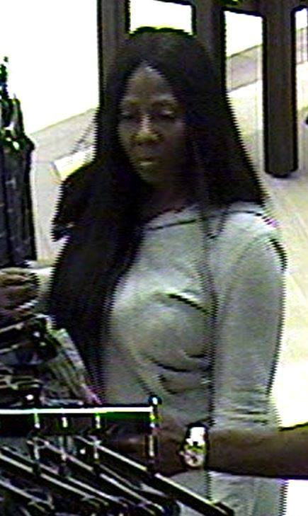 Dunwoody Police say this woman is suspected of stealing more than $700 in items from Von Maur at Perimeter Mall. (Dunwoody Police Department)