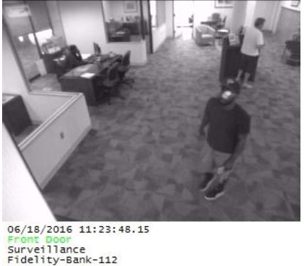 Another angle of suspected Dunwoody bank robber.