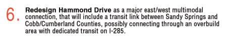 The draft Comprehensive Plan's original Hammond Drive language.
