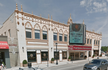 The Buckhead Theatre at 3110 Roswell Road. (Google Earth image)