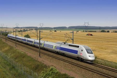 A high-speed train like this TGV train in France, pictured, could connect Atlanta and Chattanooga. (Photo Rail Europe, Inc.)