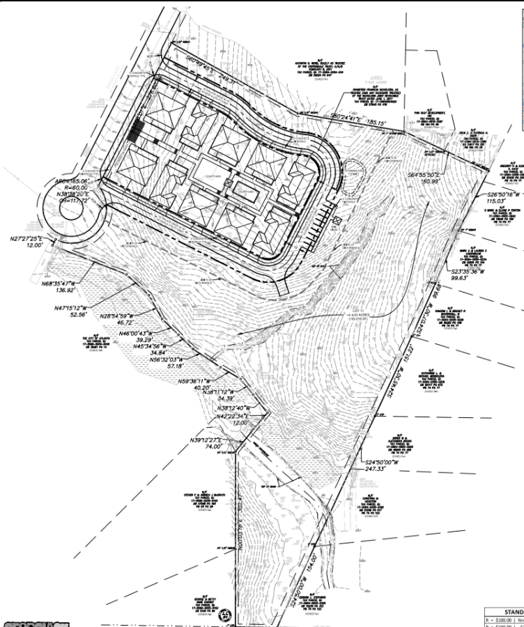 Emma Lane Site Plan