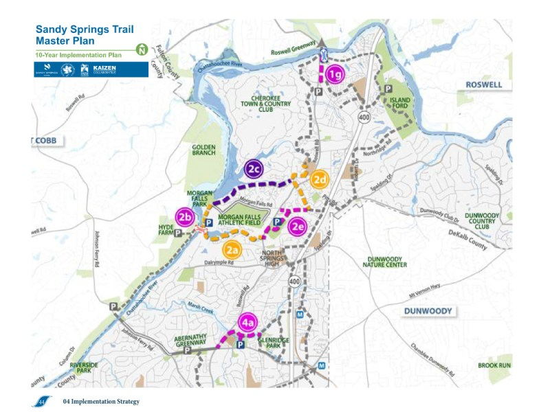 Sandy Springs Public Trails Master Plan 2021