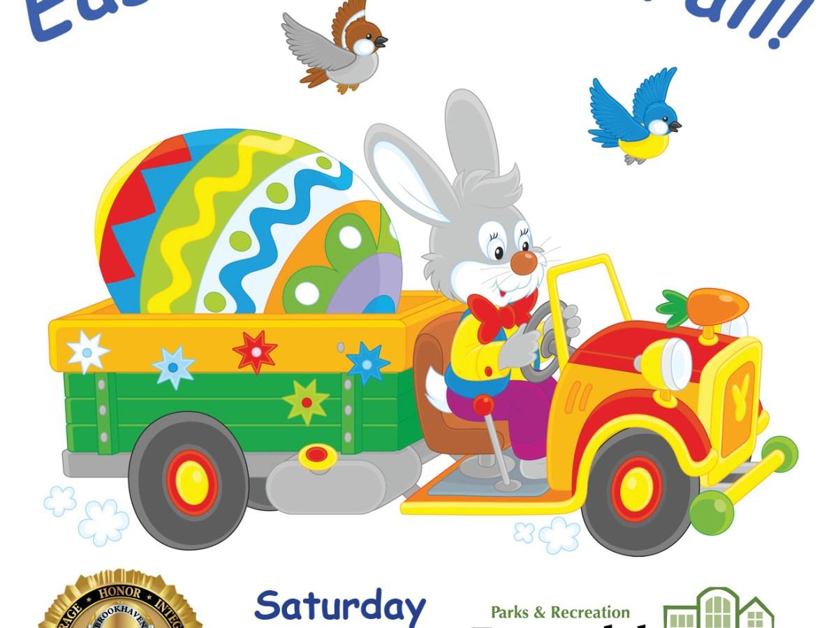 Brookhaven easter bunny parade logo