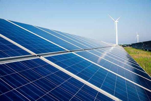 Dois em um: demanda por renováveis aumenta a necessidade de baterias baratas e eficientes. (shansekala/Thinkstock)