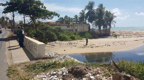 Equipe do IMA durante inspeção do Riacho Doce nesta sexta-feira (3