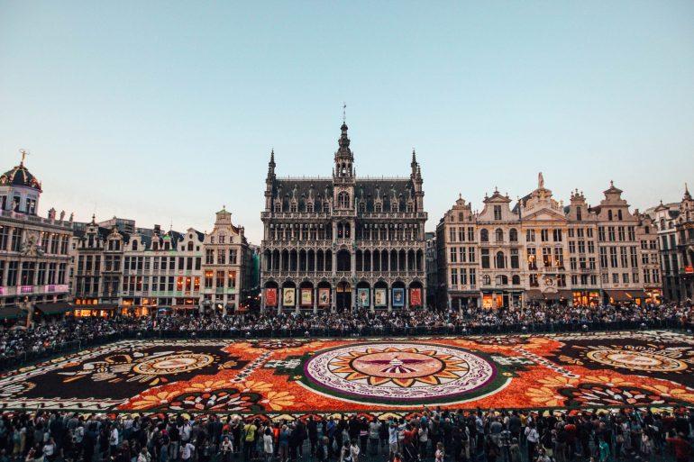 Grand Place en fleur Bruxelles