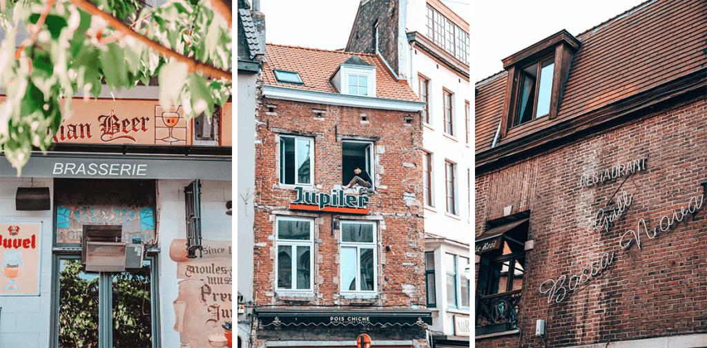 Quartier Marolles Bruxelles