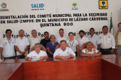REINSTALACIÓN DEL COMITÉ MUNICIPAL PARA LA SEGURIDAD EN SALUD EN  KANTUNILKÍN