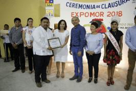 CLAUSURAN TRADICIONAL FERIA DE LA PRIMAVERA EXPOMOR 2018