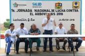 PRIMERA JORNADA NACIONAL DE LUCHA CONTRA ARVOVIROSIS