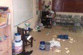 ROBAN Y VANDALIZAN ESCUELAS DEL ESTADO DESADAPTADOS SOCIALES ANTE FALTA DE VIGILANCIA