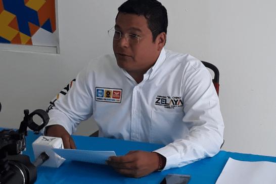 """CONSTRUIREMOS UN MUNICIPIO CON VISIÓN DE  FUTURO: FERNANDO """"CHINO"""" ZELAYA"""