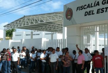 ESTALLA PARO DE LABORES DE MINISTERIALES  EN QUINTANA ROO. PIDEN SALIDA DEL FISCAL